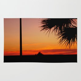 tramonto semplice Rug