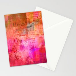 Warm Memories Stationery Cards