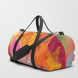 Leaf mosaic(30) Duffle Bag