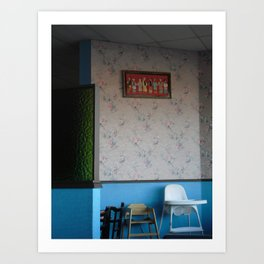 waiting on the lunch crowd Art Print