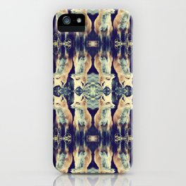 Foxes on Repeat iPhone Case