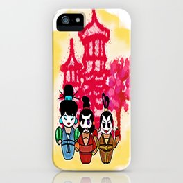 Chien po Ling and Yao Mamiji  iPhone Case