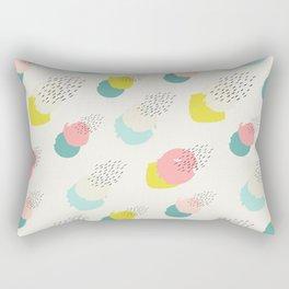 Pastel Abstract Rectangular Pillow