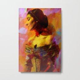 Maria Callas Metal Print