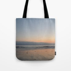 The Waves Silence Tote Bag
