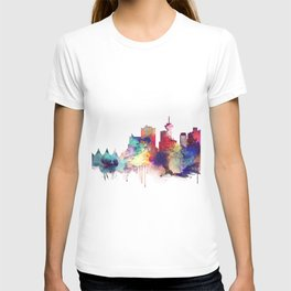 Vancouver Watercolor Skyline T-shirt