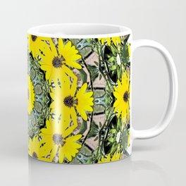 Sunflowers and Bees Coffee Mug