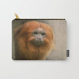 Little Golden Headed Lion Tamarin Carry-All Pouch