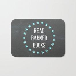 Read Banned Books Bath Mat