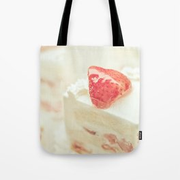 Hello Strawberries Tote Bag
