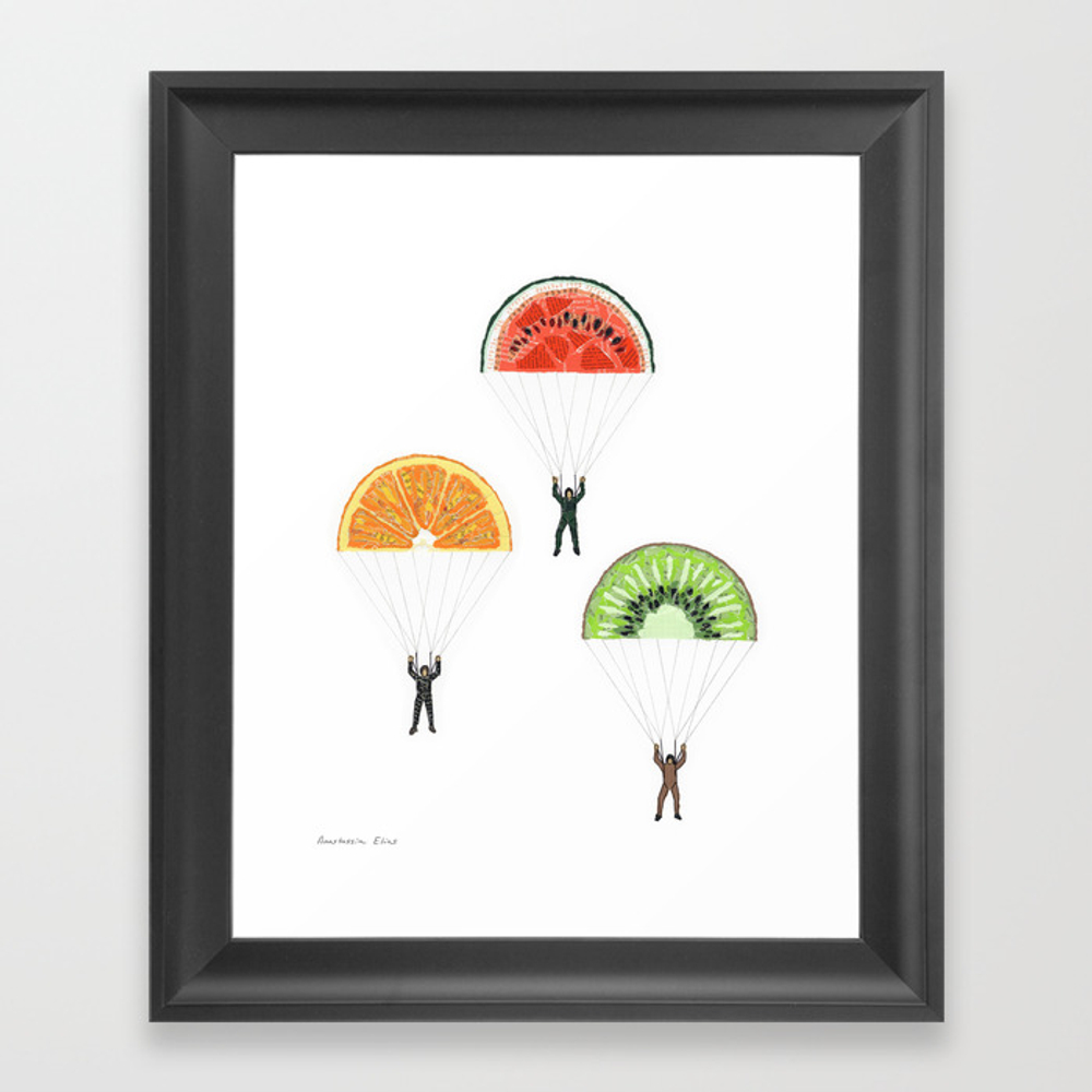 Vitaminized Commando (commando Vitaminé) Framed Art Print by Anastel FRM838489
