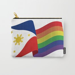 Philippine Rainbow Pride Flag Unofficial Carry-All Pouch