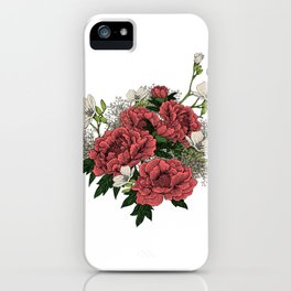 """Flower Arrangement Fall in Love Series """" The first glance"""" iPhone Case"""