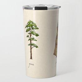 Fur Tree Travel Mug