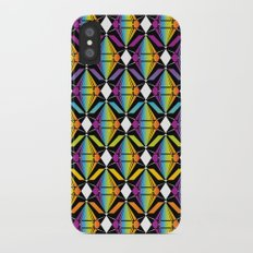 Abstract [RAINBOW] Emeralds pattern iPhone X Slim Case