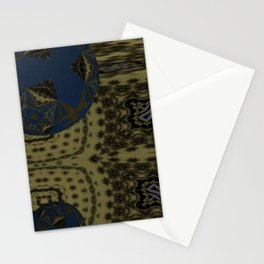 Opposed 3D 2 Stationery Cards