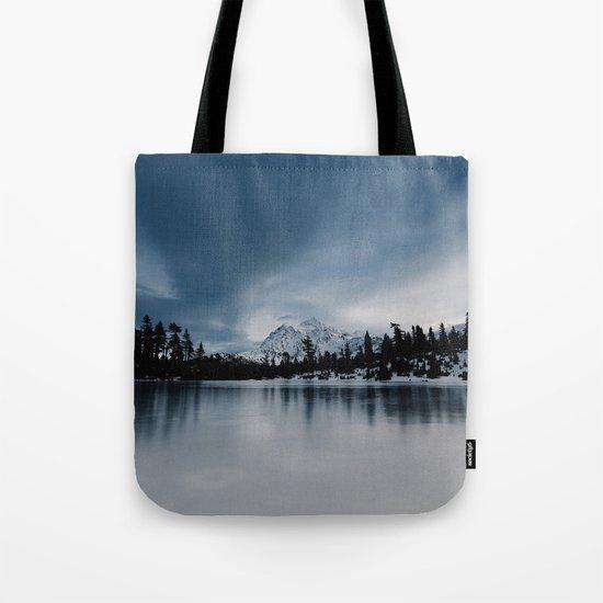 Winter Scene Tote Bag