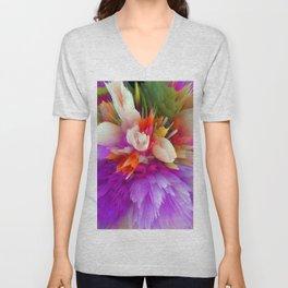 bouquet cn Unisex V-Neck
