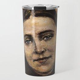 The poor Gemma (Sta. Gemma Galgani) Travel Mug
