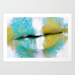 """canvas"" Art Print"
