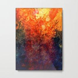 Volcanic Metal Print