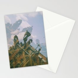 Two Dome Tops Stationery Cards