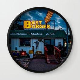 Best Burger Wall Clock