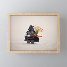 Brick Star Lord Framed Mini Art Print