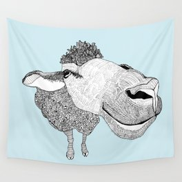 Sheepy Wall Tapestry
