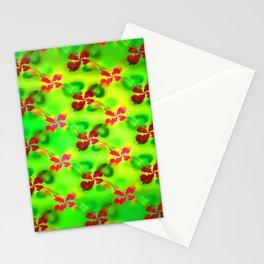 Jolly springtime pattern Stationery Cards