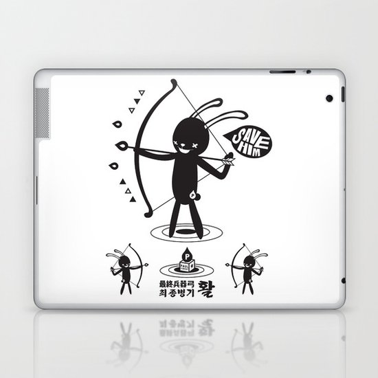SORRY I MUST LIVE - DUEL 2 VER B ULTIMATE WEAPON ARROW  Laptop & iPad Skin