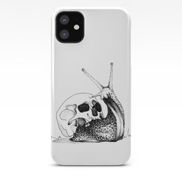 This Skull Is My Home (Snail & Skull) iPhone Case