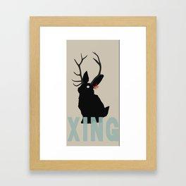 Xmas Jack Framed Art Print