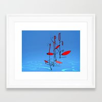 typo Framed Art Prints featuring typo... by matzenbacher