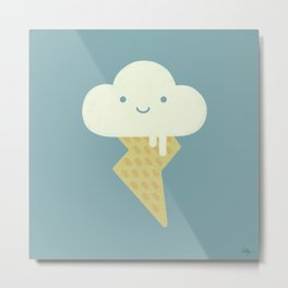 Stormy and Sweet Metal Print