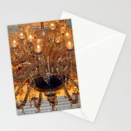 Chandelier Sparkle Stationery Cards