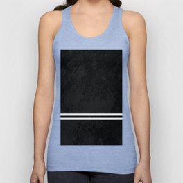 Infinite Road - Black And White Abstract Unisex Tank Top