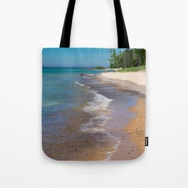 Lake_Michigan Beach, Charlevoix - III Tote Bag