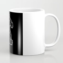 Chess Polygon Figure Knight Coffee Mug