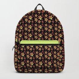 Toy Stars on Black Backpack