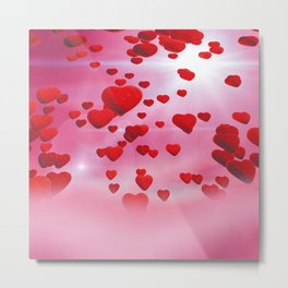 Sky is full of love Metal Print