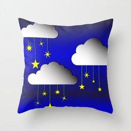 Sleep tight kiddo Throw Pillow
