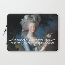 In Love with Being Queen of France Laptop Sleeve