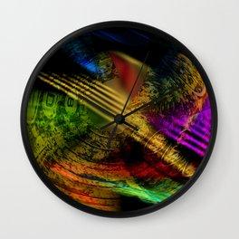 solvente cum coloribus Wall Clock