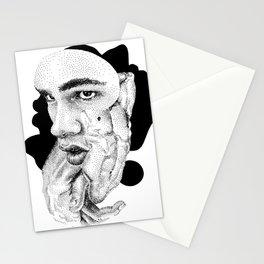Daniel Collage - Nooddood Stationery Cards