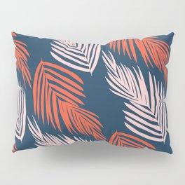 Blue Palms Pillow Sham