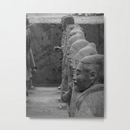 China's Terracotta Warriors Metal Print