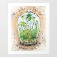Tiny Terrarium Art Print