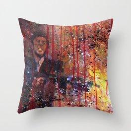Tony Montana in Scarface Throw Pillow