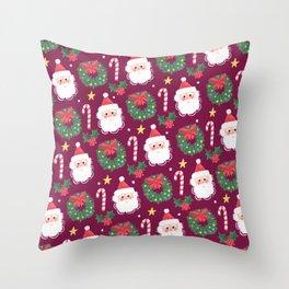 Cosy Christmas Throw Pillow